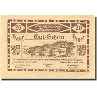 Billet, Autriche, Mautern, 20 Heller, Pont, 1920 SPL, Mehl:FS 600IIb2 - Autriche
