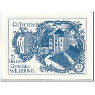 Billet, Autriche, Wilhering, 25 Heller, Eglise, 1920, 1920-04-25, SPL, Mehl:FS - Autriche