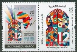 MOROCCO MAROC MAROKKO ARRUECOS JEUX AFRICAINS AFRIQUE AFRICA GAMES RABAT 2019 - Morocco (1956-...)