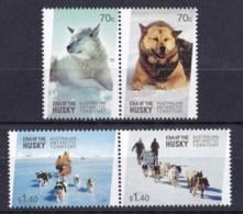 Australian Antarctic 2014 Era Of The Husky Set Of 4 MNH - Unused Stamps