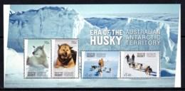 Australian Antarctic 2014 Era Of The Husky Minisheet MNH - Unused Stamps