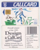 Ireland  Phonecard -  Design A Card (Chip GP1) - Ierland