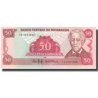 Billet, Nicaragua, 50 Cordobas, 1985-1988, KM:153, NEUF - Nicaragua