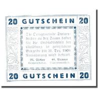 Billet, Autriche, Steinerkirchen 20 Heller, Château, 1920 SUP+ Mehl:FS 1029I - Autriche