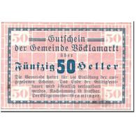 Billet, Autriche, Vöcklamarkt, 50 Heller, Graphique, SPL, Mehl:1117Ia - Autriche