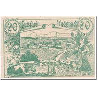 Billet, Autriche, Ungenach, 20 Heller, Paysage, 1920, 1920-05-23, SPL, Mehl:1092 - Autriche