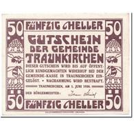 Billet, Autriche, Traunkirchen, 50 Heller, Personnage, 1920, 1920-06-01, SPL - Autriche