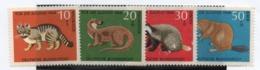 Alemania Federal 414/17 Ss Nuevo Goma Removida TT: Animales  Yvert   € 5,00 - Alemania