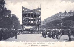 75 - PARIS 01 - Jardin Des Tuileries -  Fete De Sapeurs Pompiers Organisé Par Le Petit Journal - Batiment De Concours - Distretto: 01
