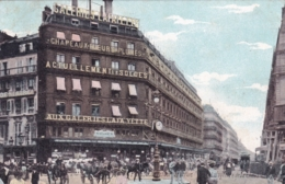 75 - PARIS 09 - Carrefour De La Rue Lafayette Et De La Chaussée D Antin - Magasin Galeries Lafayette - Arrondissement: 09