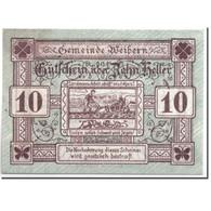 Billet, Autriche, Weibern, 10 Heller, Agriculteur, 1920, 1920-05-03, SPL - Autriche