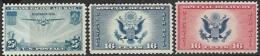 US 1934-6  ScC30, CE1-2  MNH   2016 Scott Value $2.90 - 1b. 1918-1940 Nuevos