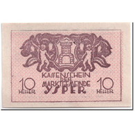 Billet, Autriche, Ysper, 10 Heller, Château, 1920, 1920-04-11, SPL, Mehl:1261 - Autriche