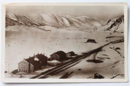 Bergensbanen Haugastøl, Norge Norway, 1910, Real Photo Postcard - Norway