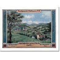 Billet, Autriche, Waldhausen, 80 Heller, Paysage, 1921, SPL, Mehl:1131 - Autriche