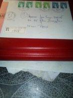ETTRE RECO AFFR SABINES  1981  St Dizier Annexe 1 - Marcophilie (Lettres)