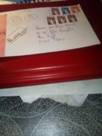 Lettre Reco Aff Sabines 1981  CACHET ROUGE St Dizier Ppal Annexe 1 - Marcophilie (Lettres)