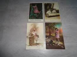 Beau Lot De 60 Cartes Postales De Fantaisie Enfants  Enfant      Mooi Lot Van 60 Postkaarten Van Fantasie Kinderen  Kind - Ansichtskarten