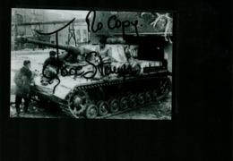 WW2 Front De L'Est L'Armée Rouge Prise D'un Panzer IV - Riproduzioni
