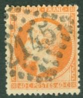 France  23   Ob  TB - 1862 Napoléon III