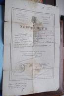 NATIONALE MILITIE ( Lichting 1902  Antwerpen Borgerhout > Jacobs Jaak 1882) 2 Dokumenten ( Zie / Voir Photo ) ! - Documenti