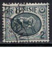 TUNISIE               N°     YVERT  340 (1)  OBLITERE       ( Ob  5/41 ) - Usados