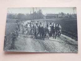 FOTOKAART Te Identificeren ( à Identificier ) RETRET > 1930 GROOT BEIGAARDEN In Potlood ( Zie / Voir Photo ) ! - Dilbeek