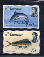 MAURITIUS - 1970 - Esposizione Internazionale Di Osaka - 2 Valori - Nuovi - Linguellati - (FDC16882) - Mauritius (1968-...)