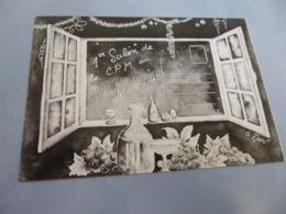 BELLE ILLUSTRATION A. MARC...1ER SALON DE LA CARTE POSTALE MODERNE AU PAYS DU MUSCADET ..NANTES 1986 - Bourses & Salons De Collections