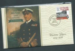 Australia 2014 On Board HMAS Australia Prestige Cover 8/8/2104 Cds - 2010-... Elizabeth II