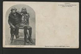Consul , Le Fameux Chimpanzé Homme élevé De Bostock - Folies Bergère - Circo