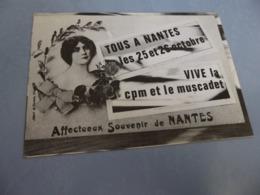 BELLE ILLUSTRATION ....P. PASTOR.....1ER SALON DE LA CARTE POSTALE MODERNE AU PAYS DU MUSCADET ..NANTES 1986 - Bourses & Salons De Collections