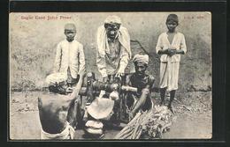 AK Sugar Cane Juice Press, Indische Zuckersaftpresse - Landbouw