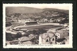CPA Bone, Stade Velodrome Municipal, Vue Generale - Annaba (Bône)