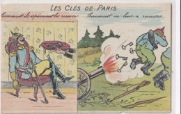 Les Clés De Paris (illustrateur Inconnu) - Oorlog 1914-18