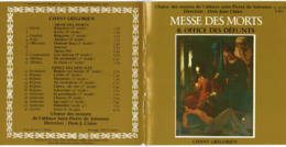 CD N°665 - MESSE DES MORTS & OFFICE DES DEFUNTS - CHANT GREGORIEN - Gospel & Religiöser Gesang