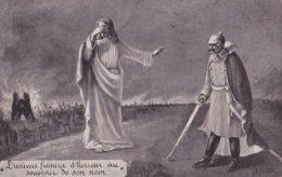Jésus Et Guillaume (lot De 2 Cartes) - Patriottisch
