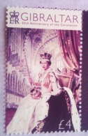 4 Pounds Queen Elizabeth II 65th Anniversary Of Coronation - Gibilterra