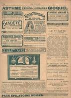 Les Annales Politiques Et Littéraires N°1314 Villégiatures Françaises A Travers Le Briançonnais - Alsace Légende 1908 - Livres, BD, Revues