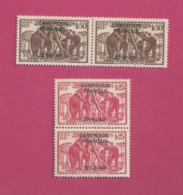 YT N° 223** Et 225 ** En Paire - Cameroun (1915-1959)