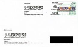 SPAIN. POSTMARK 25th ANNIV. EXPO'92 SEVILLA. 2017 - España