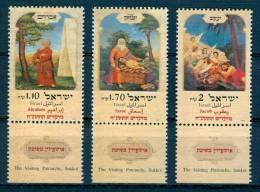 Israel - 1997, Michel/Philex No. : 1439/1440/1441, - MNH - *** - - Israel