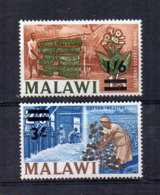 MALAWI - 1965 - Industrie - 2 Valori - Sovrastampati - Nuovi - Linguellati - (FDC16886) - Malawi (1964-...)