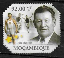 MOZAMBIQUE  N° 3877 * * Course Marathon Thorpe - Athlétisme