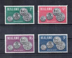 MALAWI - 1965 - Nuove Monete - 4 Valori - Nuovi - Linguellati - (FDC16887) - Malawi (1964-...)