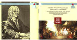 CD N°676 - GEORG PHILIPP TELEMANN - OVERTURES & CONCERTOS - COMPILATION - Klassiekers
