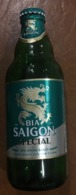 Vietnam Viet Nam SAIGON SPECIAL 330ml Beer Glass Bottle With Cap / Empty One / 02 Photo - Cerveza