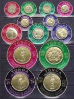 Tonga   1963-64  Due Serie Cpl..di P.O.P.A. E Servizio MNH** - Tonga (...-1970)