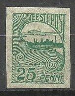 Estonia Estonie 1920 Tallinn Reval Michel 15 MNH - Estland