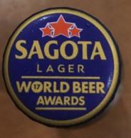 Vietnam Viet Nam SAGOTA Used Beer Bottle Crown Cap / Kronkorken / Capsule - Bière